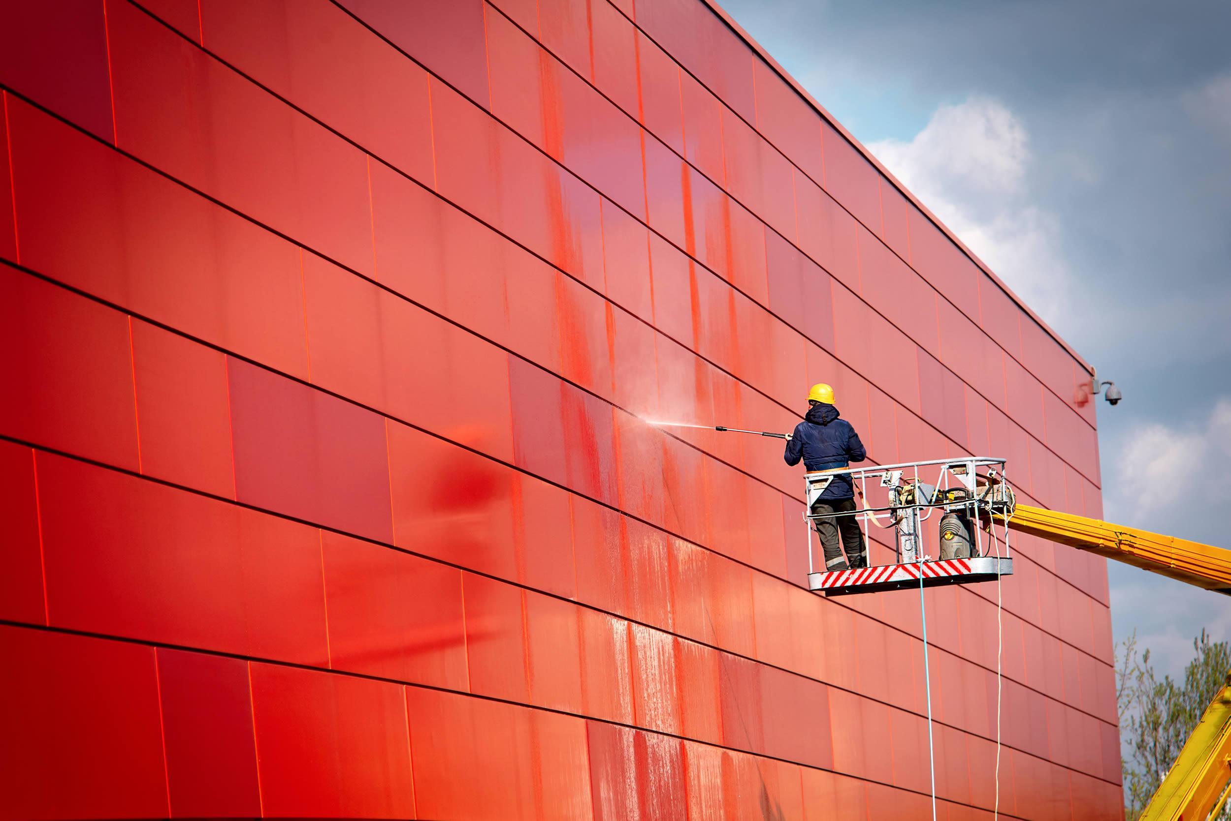 Ihr Fachbetrieb für Fassadenreinigung